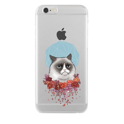 Remeto Samsung Galaxy Note 3 Transparan Silikon Resimli Asabi Kedi