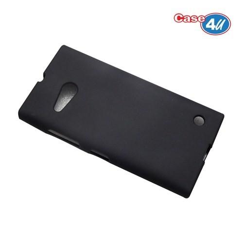 Case 4U Nokia Lumia 735 Soft Silikon Kılıf Siyah*