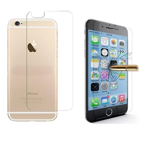 Microcase Apple İphone 6 Plus-6S Plus Ön Arka Takım Tempered Glass Cam Koruma