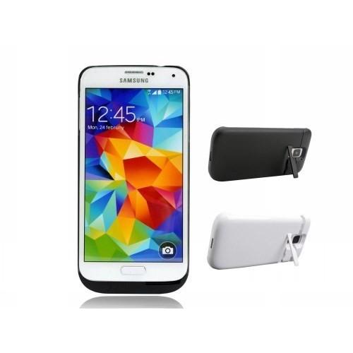Teleplus Samsung Galaxy S5 Şarjlı Kılıf Beyaz