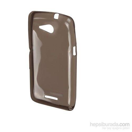 Inovaxis Sony E 4G İnce Ve Koruyucu Arka Kapak Siyah