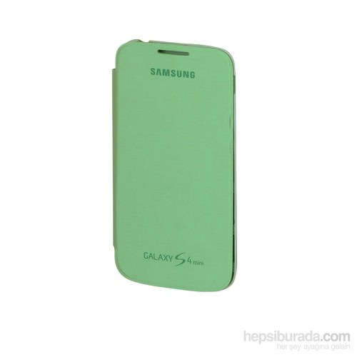 Inovaxis Samsung S4 Mini Flip Cover Yeşil