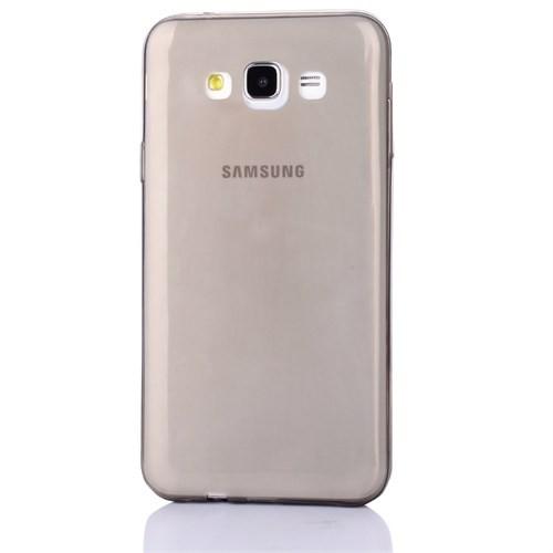 Cep Market Samsung Galaxy Core Prime Kılıf 0.2Mm Antrasit Silikon