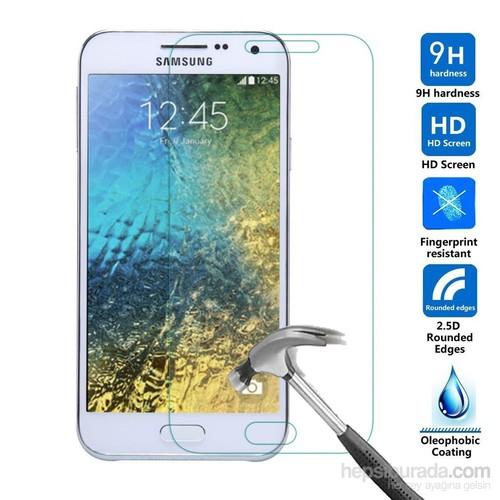 Case 4U Samsung Galaxy E7 Cam Ekran Koruyucu