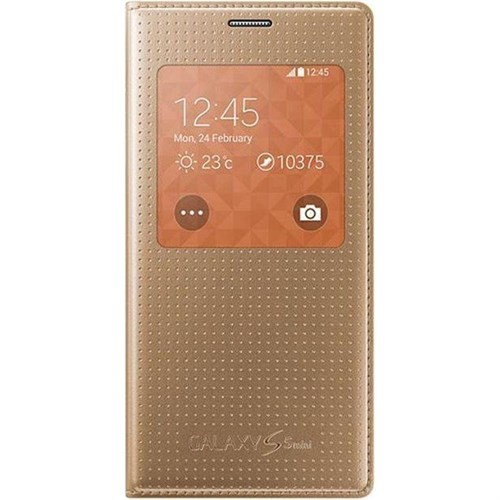 Samsung Galaxy S5 Mini S View Cover Gold