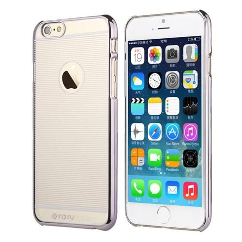 TotuDesign Apple iPhone 6 Plus Kılıf Silver Breeze Series