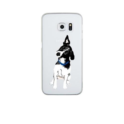 Remeto Samsung S6 Edge Plus Silikon Şaşkın Köpek