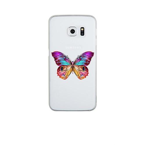Remeto Samsung S6 Edge Plus Silikon OLGun Kelebek