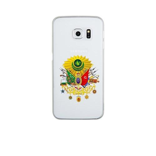 Remeto Samsung Galaxy S6 Edge Plus Şeffaf Transparan Silikon Resimli Osmanlı Tuğrası