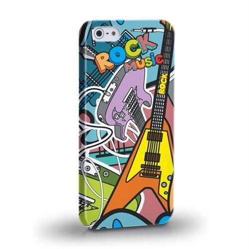 Biggdesign Rock Music I Phone 5/5S Kapak