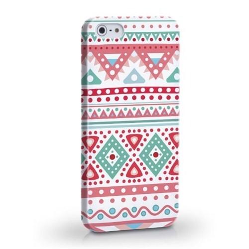 Biggdesign Etnik Pembe Apple iPhone 5/5S Kapak