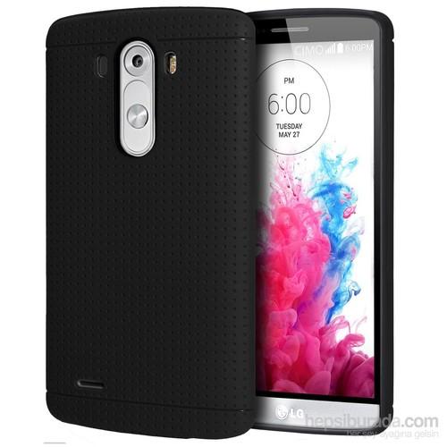 Case 4U LG G3 Dot Style Silikon Kılıf Siyah