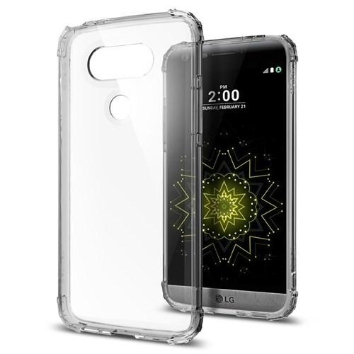 Spigen LG G5 Kılıf Crystal Shell Dark Crystal - A18CS20134