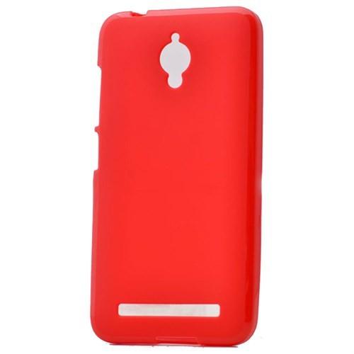 Case 4U Asus Zenfone Go Soft Silikon Kılıf Kırmızı