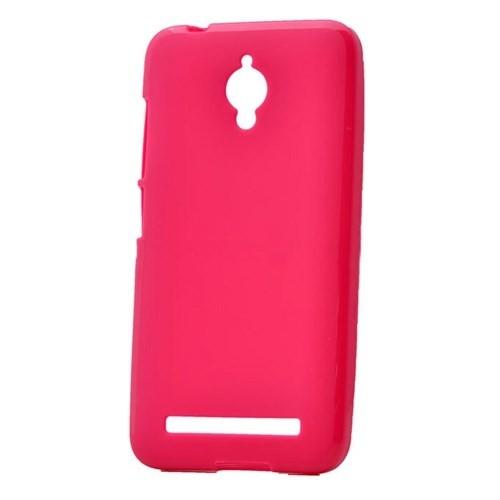 Case 4U Asus Zenfone Go Soft Silikon Kılıf Pembe