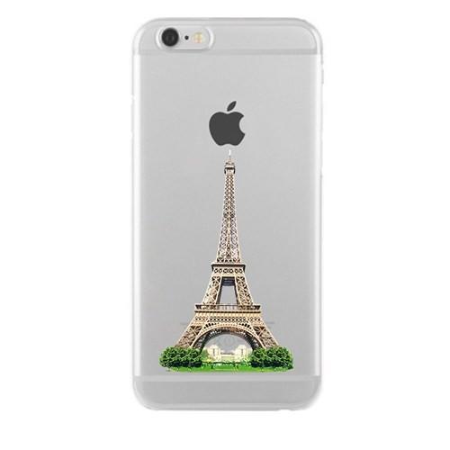 Remeto Samsung Galaxy Note 3 Transparan Silikon Resimli Eyfel Kulesi