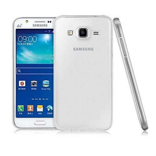 Case 4U Samsung Galaxy J2 Ultra İnce Silikon Kılıf Şeffaf