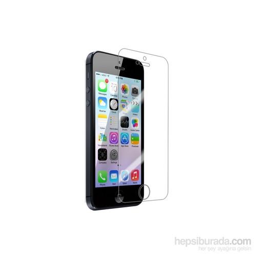 Case 4U Apple iPhone 5/5s Ekran Koruyucu ( Ultra Şeffaf Parmak izi bırakmaz )
