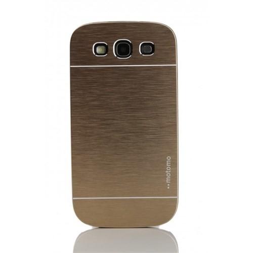 KılıfShop Samsung Galaxy S3 Metal Kılıf