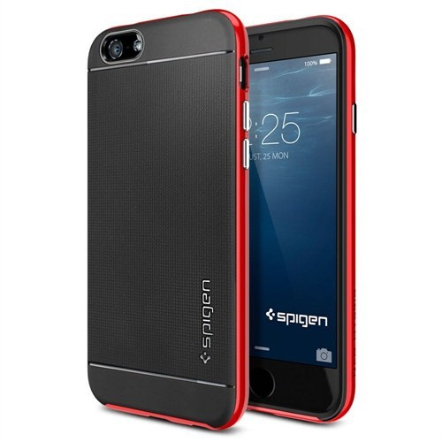 Spigen Apple iPhone 6S/6 Kılıf Neo Hybrid Serisi Dante Red - 11032