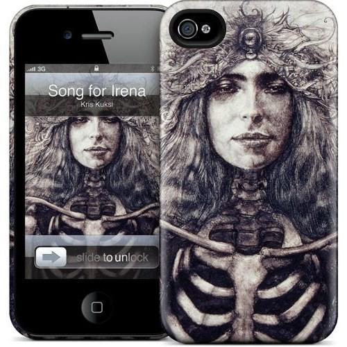 Gelaskins Apple iPhone 4 Hardcase Kılıf Song For Irena