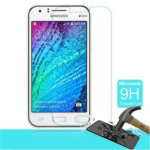 Microsonic Temperli Cam Ekran Koruyucu Samsung Galaxy J1 Film