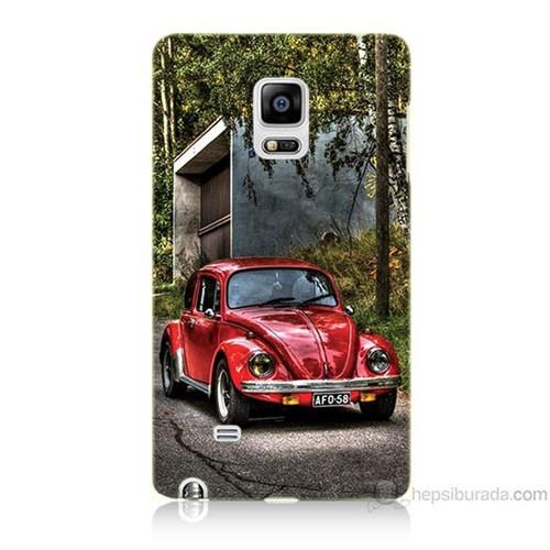 Teknomeg Samsung Galaxy Note Edge Kapak Kılıf Volkswagen Baskılı Silikon