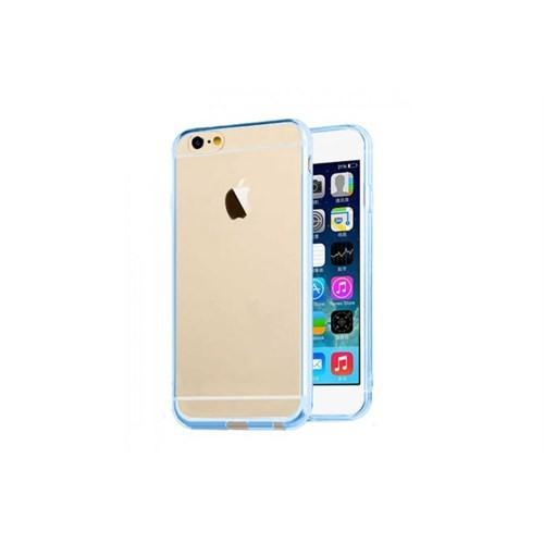 Teleplus İphone 6 4.7'' Darbeleri Emen Silikon Kılıf Mavi