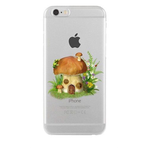 Remeto Samsung Galaxy S5 Mini Transparan Silikon Resimli Sevimli Ev