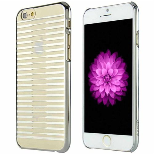 "Thincase Apple iPhone 6 Plus (5.5"") Ultra İnce Arka Kapak iSecret04 Gümüş-12000142"
