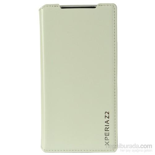 Coverzone Sony Xperia Z2 Kılıf Delüx Kapaklı