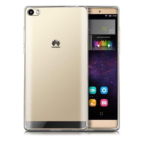 Case 4U Huawei P8 Ultra İnce Silikon Kılıf Şeffaf
