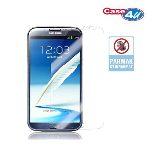 Case 4U Samsung Note 2 N7100 Ekran Koruyucu ( Parmak izi bırakmaz )