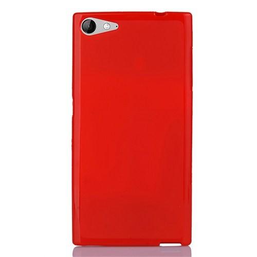 CoverZone Casper Via V9 Kılıf Silikon Kırmızı