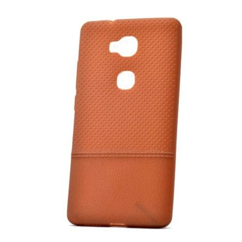 Teleplus Huawei Gr5 Noktalı Silikon Kılıf Kahverengi