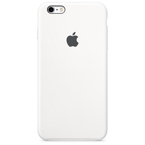 Apple iPhone 6S Plus İçin Silikon Kılıf Beyaz
