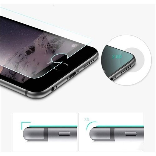 Melefoni Apple İphone 6S Ekran Koruyucu Melefoni Şeffaf
