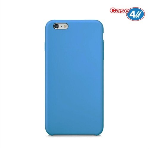 Case 4U Apple iPhone 6 Plus İnce Arka Kapak Mavi