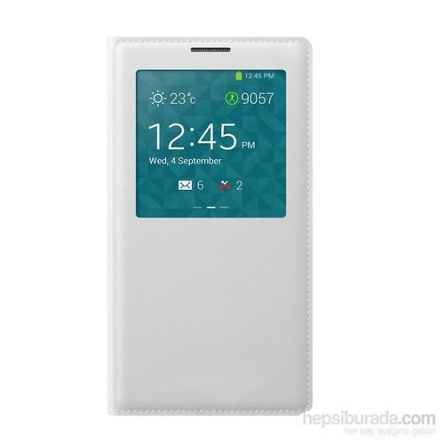 Case 4U Samsung Galaxy Note 3 Neo N7500 Beyaz Kapaklı Kılıf (Uyku Modlu)