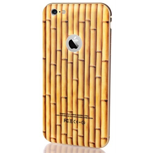 CoverZone İphone 5 - 5S Kılıf Bambu Görünümlü