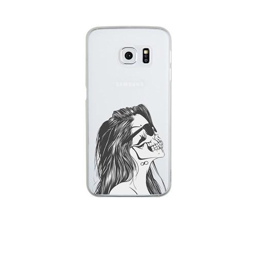 Remeto Samsung S6 Edge Silikon Kuru Kafa Kadın