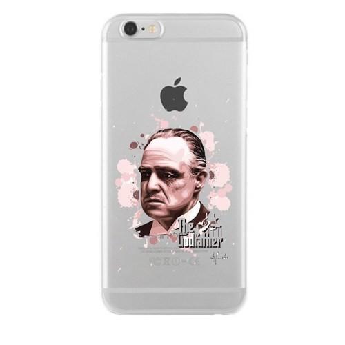 Remeto Samsung Galaxy Note 3 Neo Godfather Transparan Silikon Resimli Kılıf