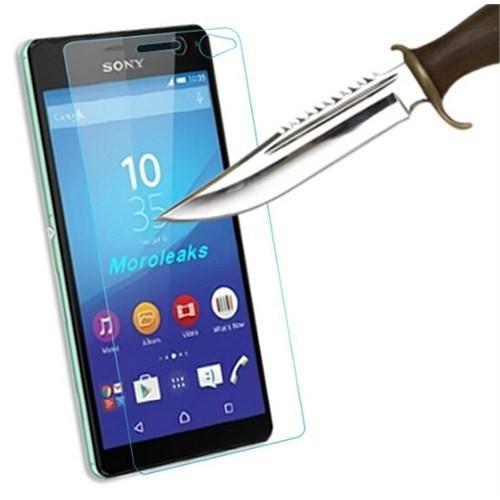CoverZone Sony Xperia C4 Temperli Cam Filmi
