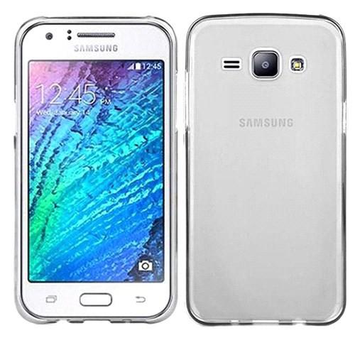 Case 4U Samsung Galaxy J5 Ultra İnce Silikon Kılıf Şeffaf