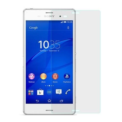 Teleplus Sony Xperia Z4 Şeffaf Cam Ekran Koruyucu Film