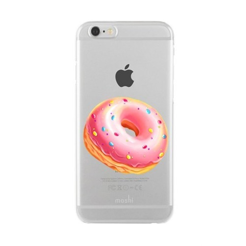 Remeto Samsung Galaxy S3 Mini Transparan Silikon Resimli Donut