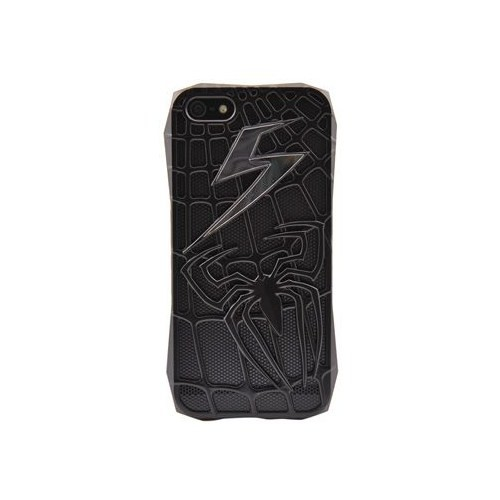 Resonare Apple iPhone 5 Spider Temali Siyah Arka Kapak