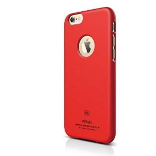 Elago Apple iPhone 6 S6 Slim Fit 1 Series Kılıf - Kırmızı (Ekran Koruyucu Hediye)