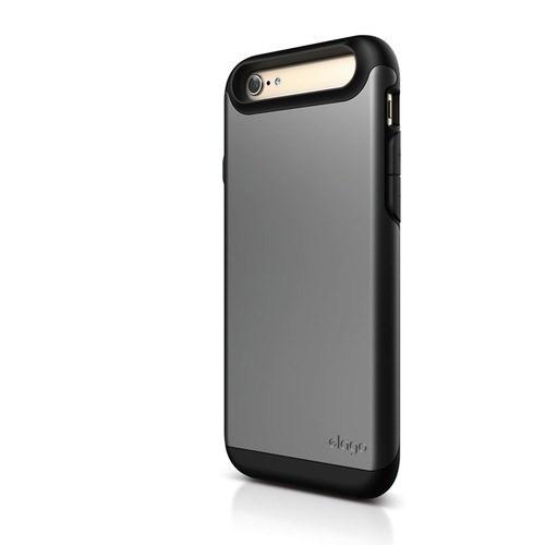 Elago Apple iPhone 6 S6 Duro Series Kılıf - Koyu Gri (Ekran Koruyucu Hediye)