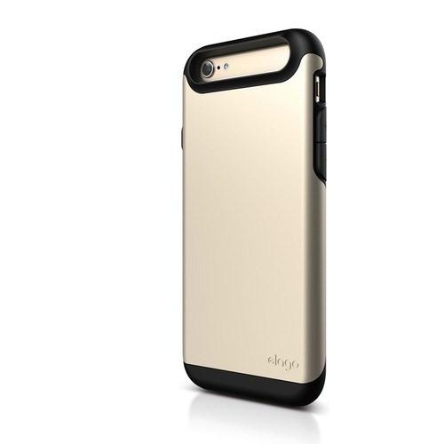 Elago Apple iPhone 6 S6 Duro Series Kılıf - Gold (Ekran Koruyucu Hediye)